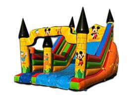 Disney dmuchana zjeżdżalnia myszka miki dla dzieci na imprezy integracyjne